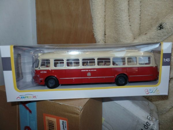 Abrex 143PB001 1/43 Skoda 706 RTO Bus Municipal Transportation Company Prague